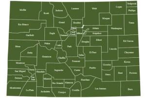 Colorado Clickable Map