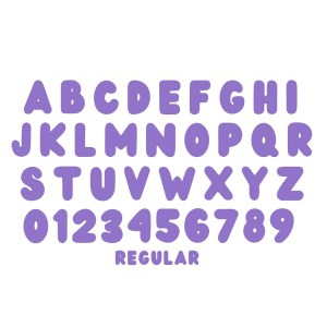 Wedges-Rounded Font