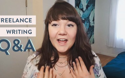 Video: Freelance Writing Q&A | Niches, Swipe Files & More!
