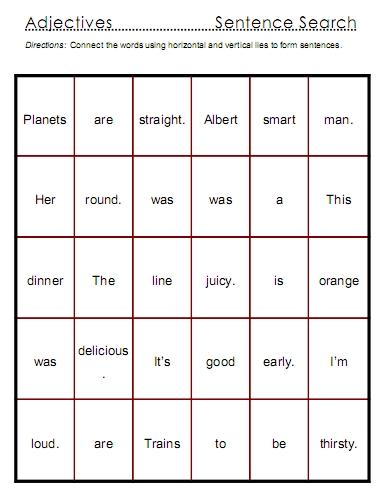 Sentence Searches