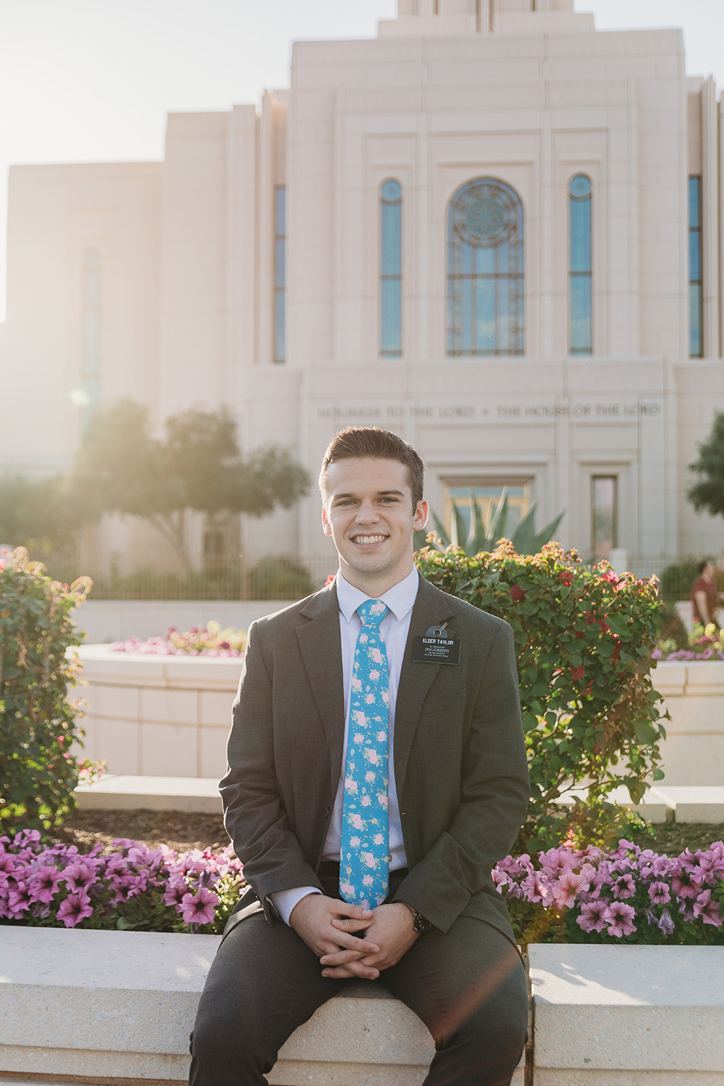 LDS missionary photoshoot gilbert az temple