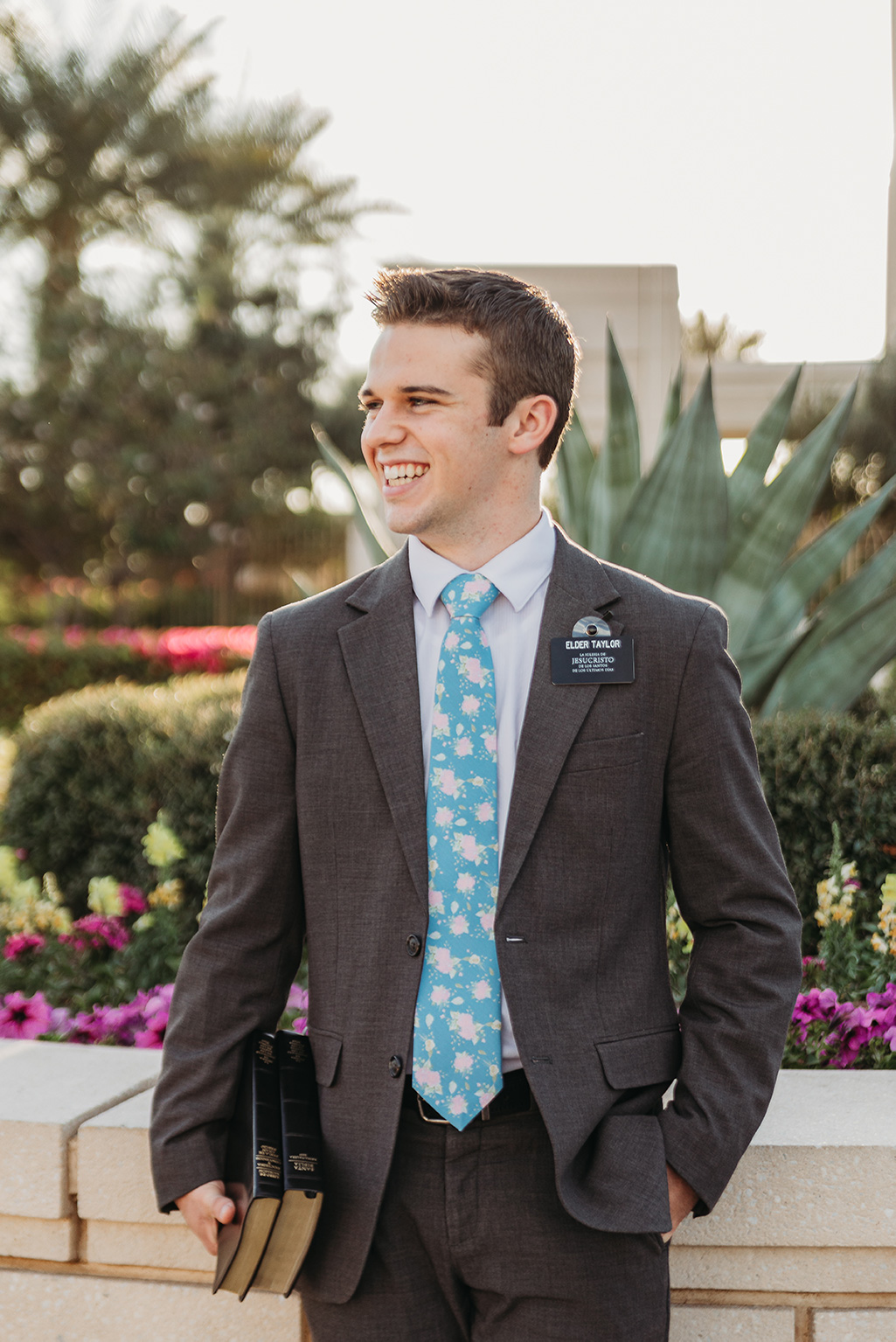 LDS missionary photography at gilbert az temple