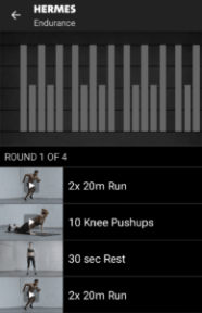 Hermes - Freeletics Training End