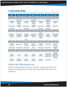 Meal Plan - Freeletics Training Nutrition Guide 2