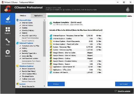 CCleaner Pro 5.85 Crack & License Key 2021 Free Download