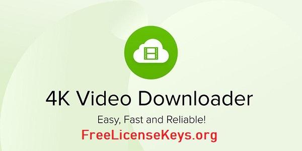 4K Video Downloader 4.16.2 Crack & License Key (Latest)