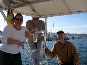 Alison, Mark, and Milo