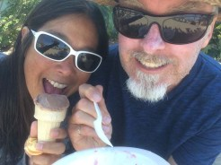 Ice cream at Two Harbors