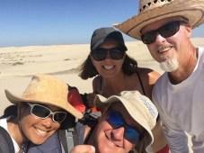 Cruisers on dunes