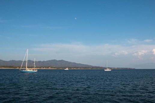The anchorage at Punta de Mita