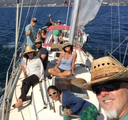 Beautiful sail on Danika in Bahía de Banderas