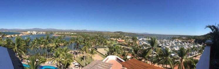 View from the Isla Navidad resort