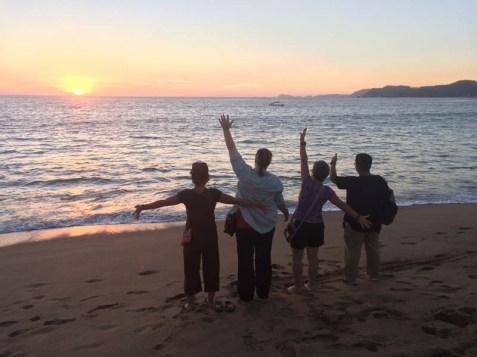 Last Barra sunset for the Sensing group