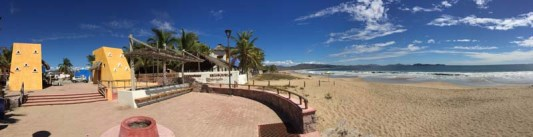 Beautiful beach in Chamela
