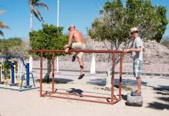 A little workout on el malecon