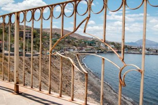A look back at Santa Rosalia from the malecon