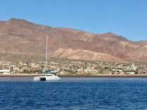 FL at anchor off the Village (PC Jilly on S/V Dazzler)