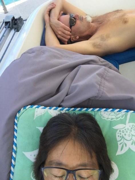 Hot = naps