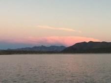 Sunset over Quemado
