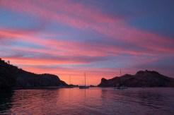 Sunset over Agua Verde