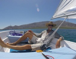 Capt. Rand sailing CD back in Pescador