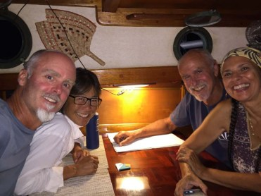 Lovely friends, Greg and Maria of S/V Tao