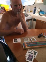 A morning cribbage ass-whoopin'