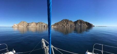 Sea lion rookery on Isla Granito near Refugio