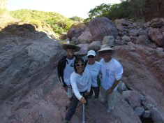 The mighty hikers!