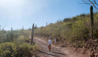 Hike with Rand and Vicki on at San Juanico