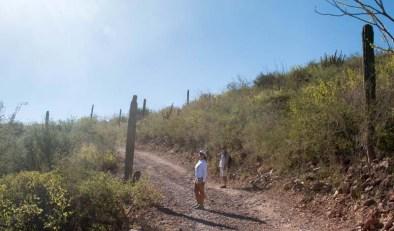 Hike with Rand and Vicki on at San Juanico