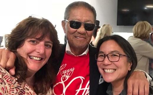 Selfie with Vanessa and Annie
