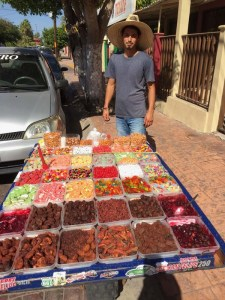 A local candy seller