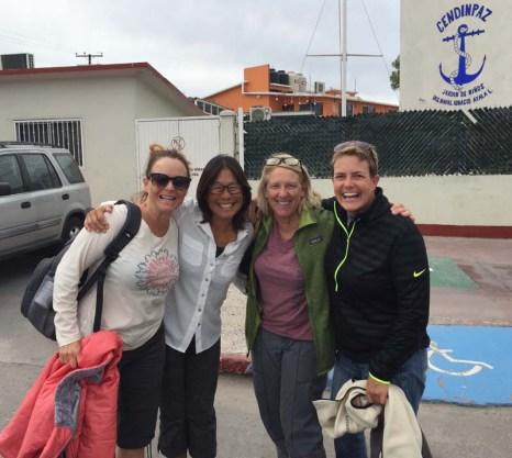 Flea, Lea, and Stacy arrive La Paz!