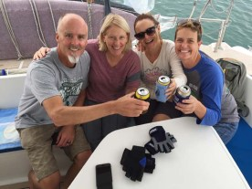 First beers aboard FL