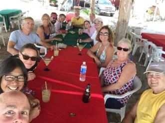 Rollo del Mar treats at the palapa