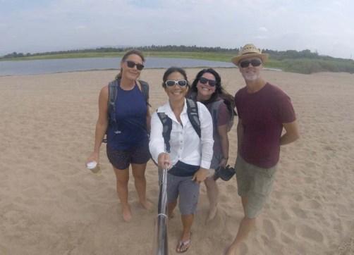 The Melaque beach walkers
