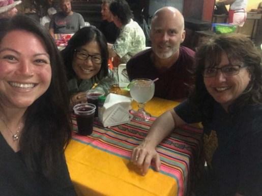Dinner at El Rinconcito with Sammi and Vanessa (PC Sammi)
