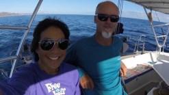 Celebrating 1 year at sea, well, at sea