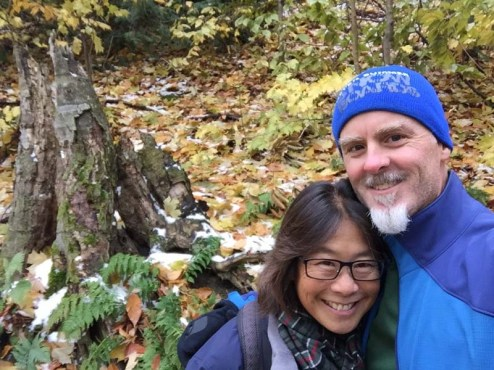 Fall hike in MI