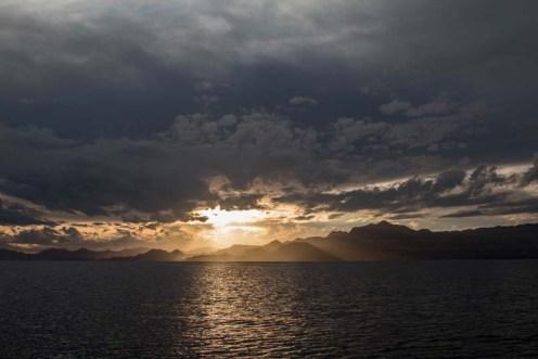 Sunset from San Evaristo