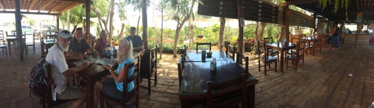 Lunch with S/Vs Honu and Catatude