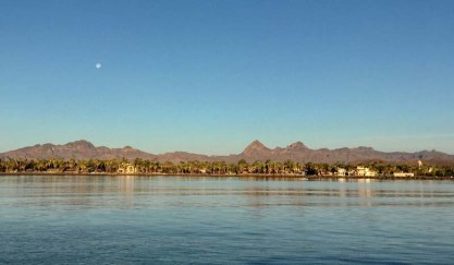 Leaving Loreto - back to La Paz for us