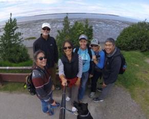 Selfie on the Coastal Trail