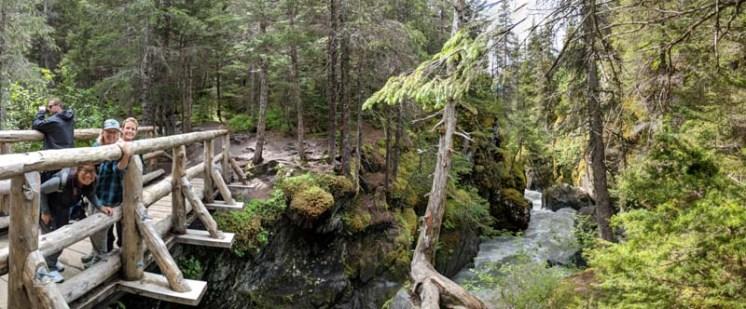 One of the bridge crossings on the Winner Creek trail