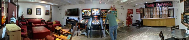 Pinball at the coffee house