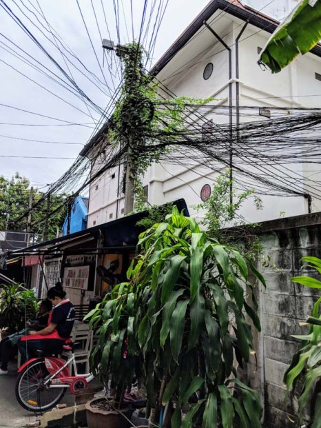The wiring in Thailand rivals that in Mexico