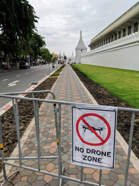 Didn't see a single drone in Thailand