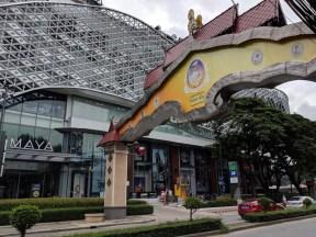 The Maya shopping mall - a goliath