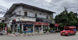 Family tattoo parlor